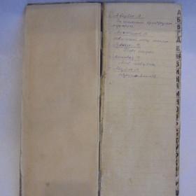 Алфавитная опись личной библиотеки М. Джалиля