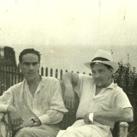 Муса Джалиль, Ахмет Исхак. Дом творчества в Одессе. 1939
