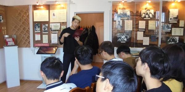 У нас в гостях студенты из Китая