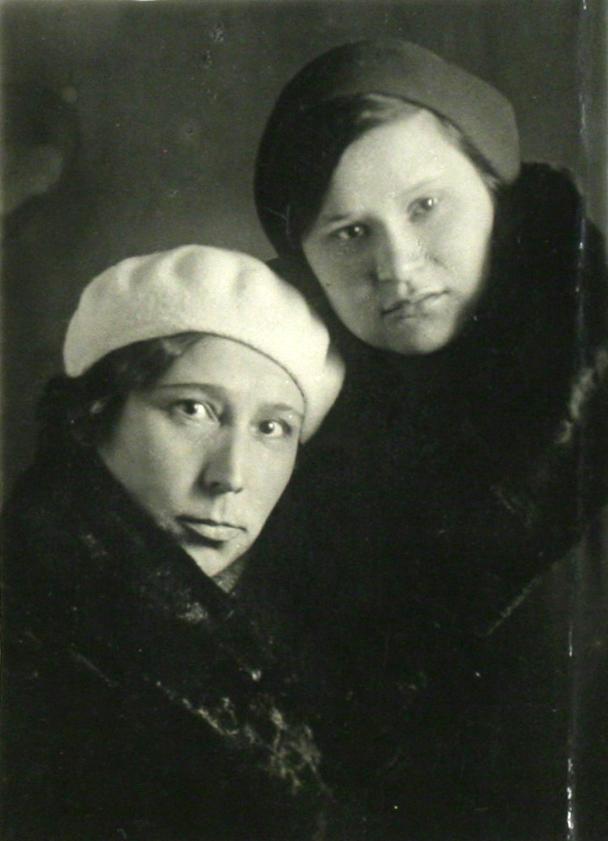Зубайда и Хадича Залиловы. 1935
